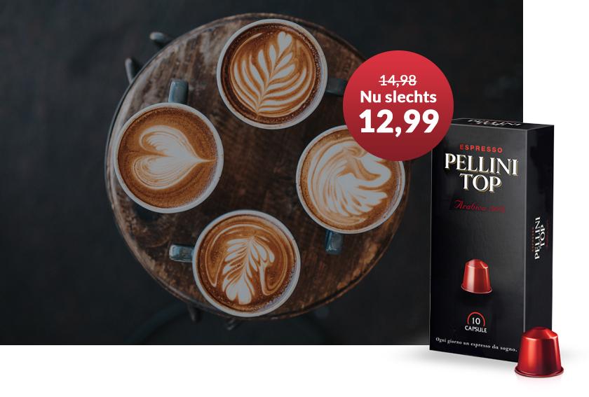 KoffieMasters - Pellini Aanbieding
